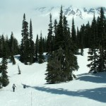 Snowshoeing at Paradise, Mount Rainier National Park